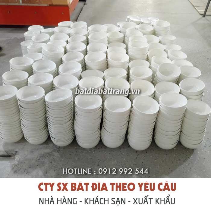 Xưởng sản xuất bát đĩa nhà hàng giá rẻ