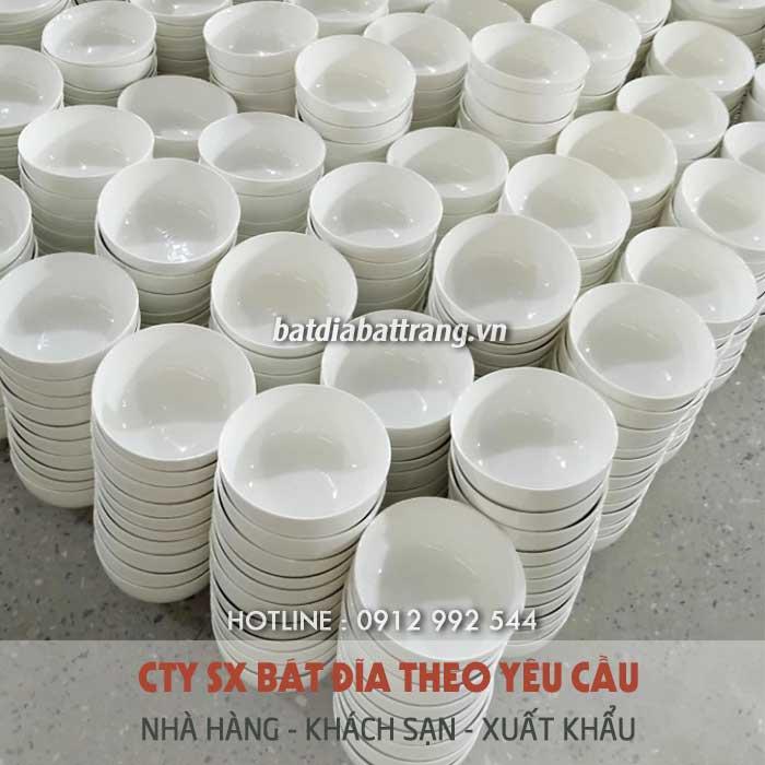 Xưởng sản xuất bát đĩa nhà hàng khách sạn - Địa chỉ phân phối