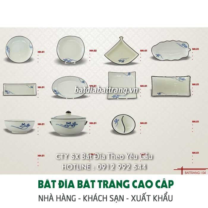 Xưởng sản xuất bát đĩa Bát Tràng xuất khẩu – Cung cấp chén dĩa
