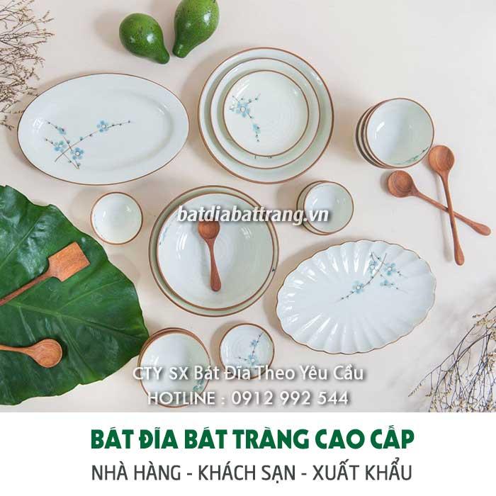 Chuyên cung cấp - bán bát đĩa nhà hàng cao cấp độc đáo Hà Nội
