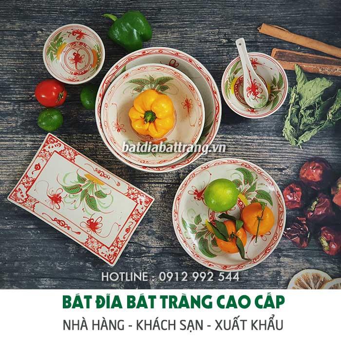 Mua bát đĩa Bát Tràng ở đâu Tphcm, Đà Nẵng, Hà Nội?