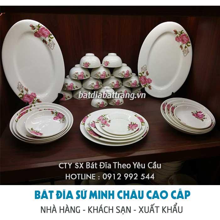 Tổng kho chuyên cung cấp bát đĩa cho nhà hàng