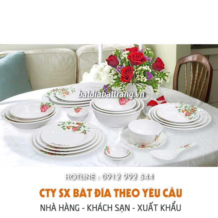 Địa chỉ cung cấp bát đĩa cho nhà hàng cao cấp giá rẻ