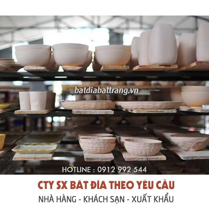 Mua bát đĩa ở đâu rẻ - Tô chén dĩa sứ nhà hàng, quán ăn