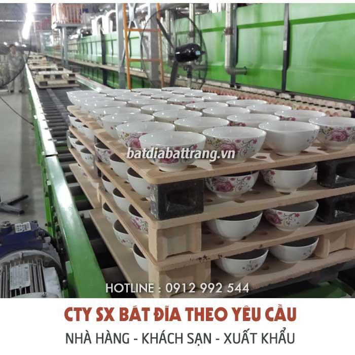 Xưởng sản xuất, cung cấp bát đĩa cho nhà hàng khách sạn tphcm