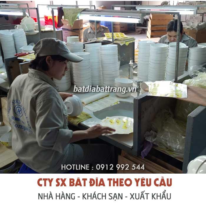 Đặt sản xuất bộ đồ ăn gốm sứ cao cấp cho nhà hàng giá tốt