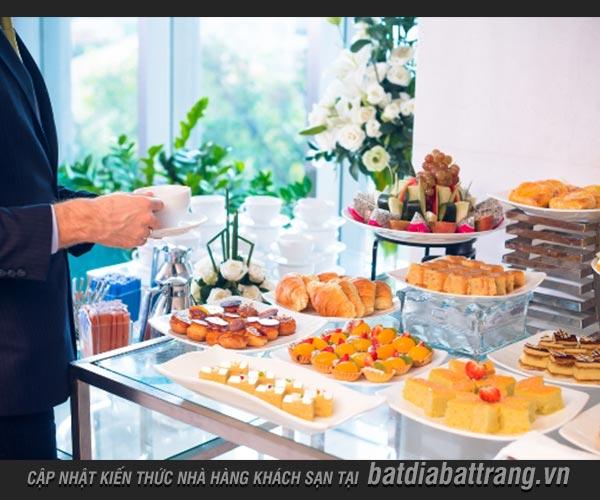 Set up tiệc Trà Chiều trong khách sạn cần có tiêu chí gì?