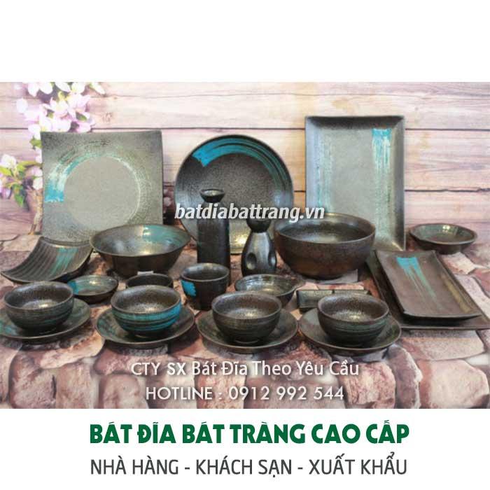 Mua bát đĩa gốm sứ cao cấp cho nhà hàng tại xưởng sản xuất với mức giá tốt nhất