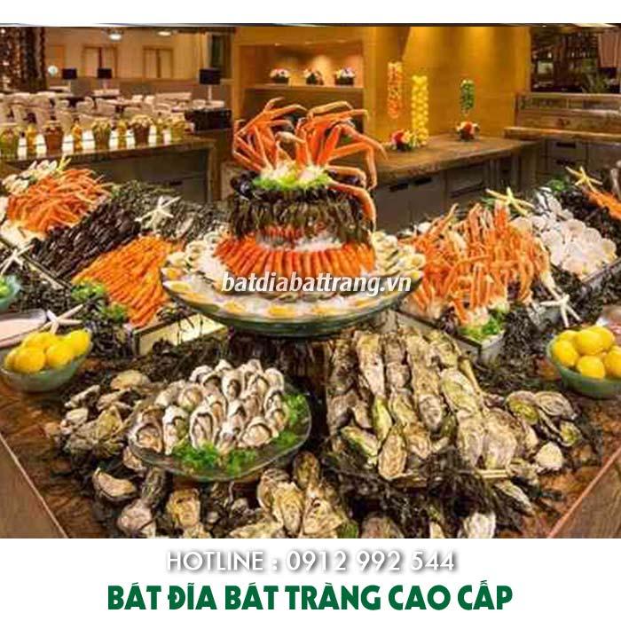 Thực đơn tiệc buffet thông dụng cho các nhà hàng khách sạn