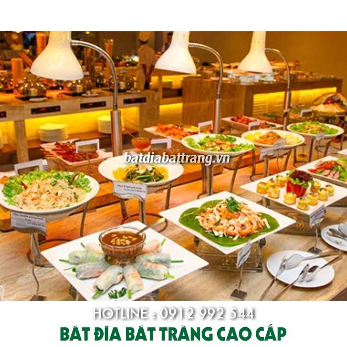 Xưởng sản xuất, cung cấp bộ bát đĩa nhà hàng buffet tại Tphcm
