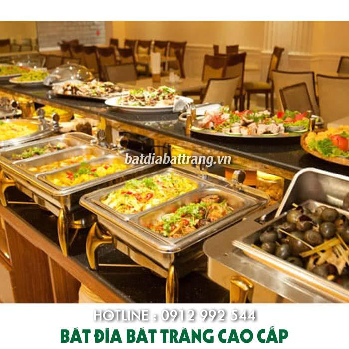 Vật dụng nhà hàng buffet cơ bản và nâng cao cần có