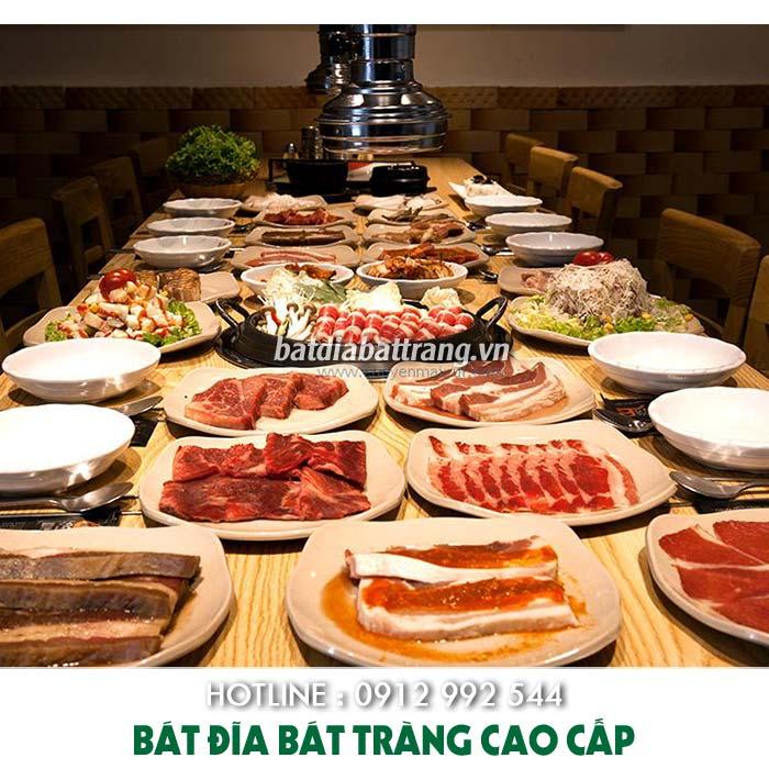 Mở nhà hàng lẩu nướng nên đầu tư thứ gì đầu tiên? Mua bát đĩa nhà hàng hàn quốc ở đâu tphcm, tô chén dĩa giá tốt, Bát đĩa nhà hàng hàn quốc, nhà hàng lẩu nướng được ưa chuộng tại Việt Nam