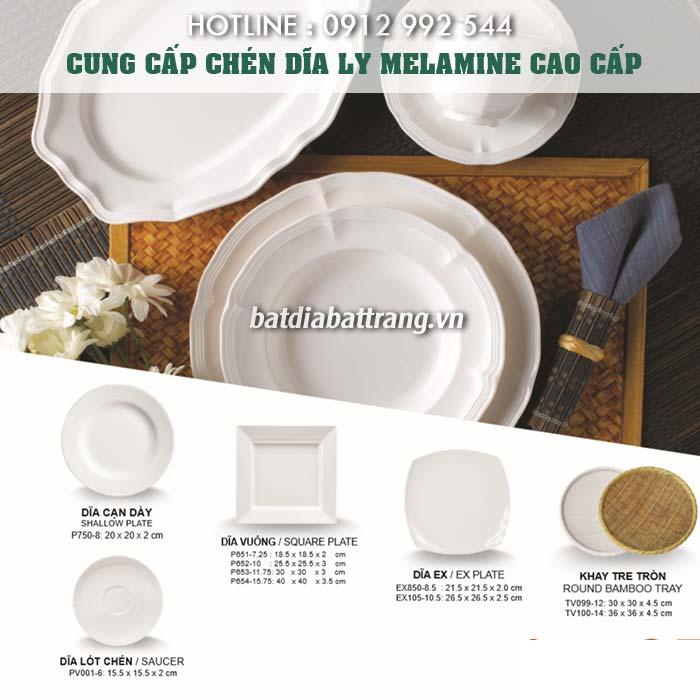 Xưởng cung cấp tô chén bát đĩa melamine cao cấp