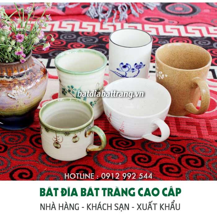 Xưởng sản xuất, cung cấp cốc cafe nhà hàng, tách trà đẹp tại Thái Bình