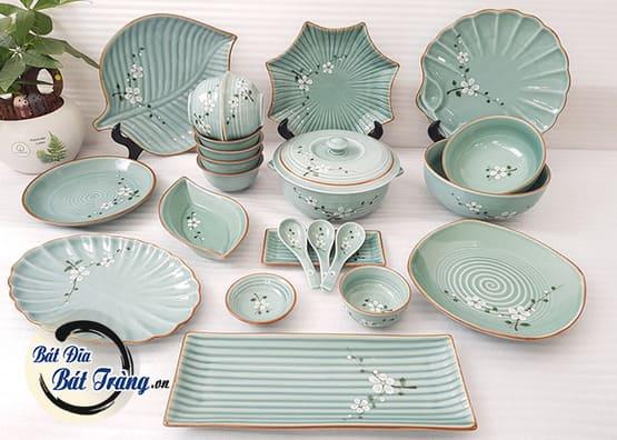 Địa chỉ cung cấp bát đĩa gốm sứ Bát Tràng cho nhà hàng giá sỉ tốt nhất