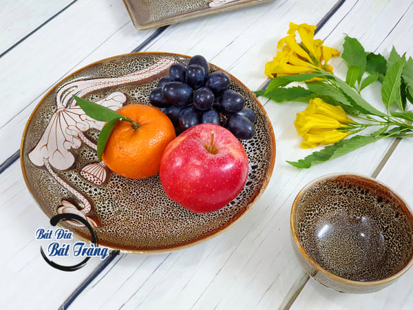 Các mẫu bát đĩa Bát Tràng đẹp sang trọng và đảm bảo chất lượng tốt nhất