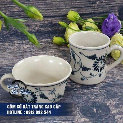 Ly cốc tách cafe gốm sứ Bát Tràng