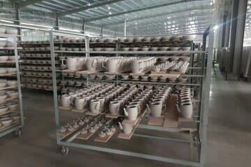 xưởng sản xuất bát đĩa bát tràng