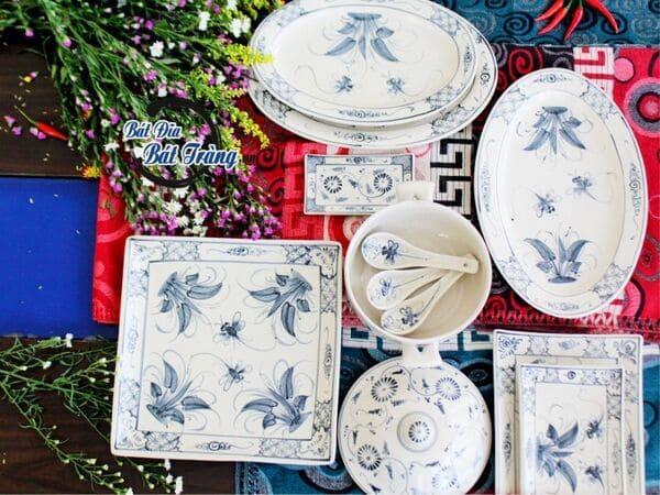 Cửa hàng cung cấp bát đĩa đẹp, bộ bàn ăn gốm sứ cao cấp cho nhà hàng - khách sạn