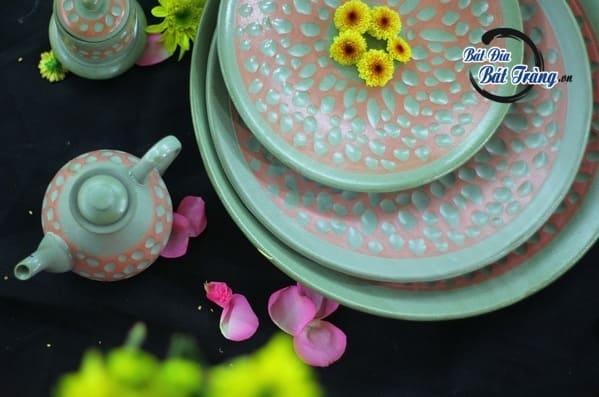 Các mẫu bát đĩa Bát Tràng đẹp được nhà hàng ưa chuộng