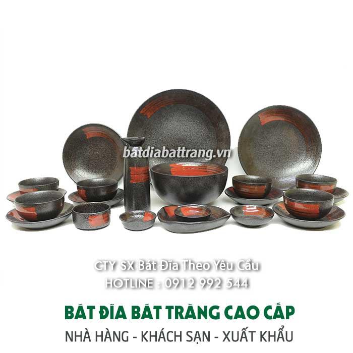 Các mẫu bát đĩa, tô chén dĩa đẹp từ xưởng sản xuất gốm sứ Bát Tràng