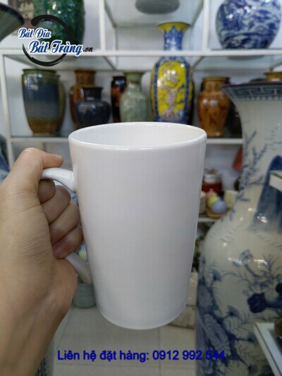 cốc loe cao men mát nhiều màu
