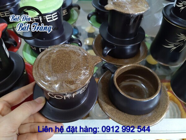 Phin cafe gốm sứ