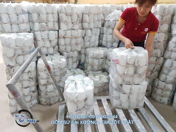 xưởng sản xuất sản phẩm gốm sứ cho nhà hàng