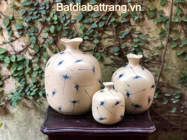 Bình hoa gốm sứ trang trí