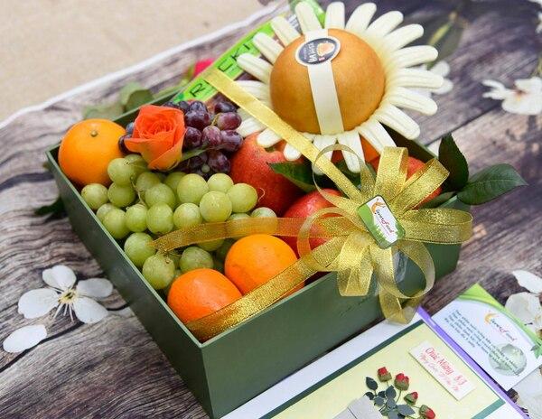 Giỏ quà Tết hoa quả tươi