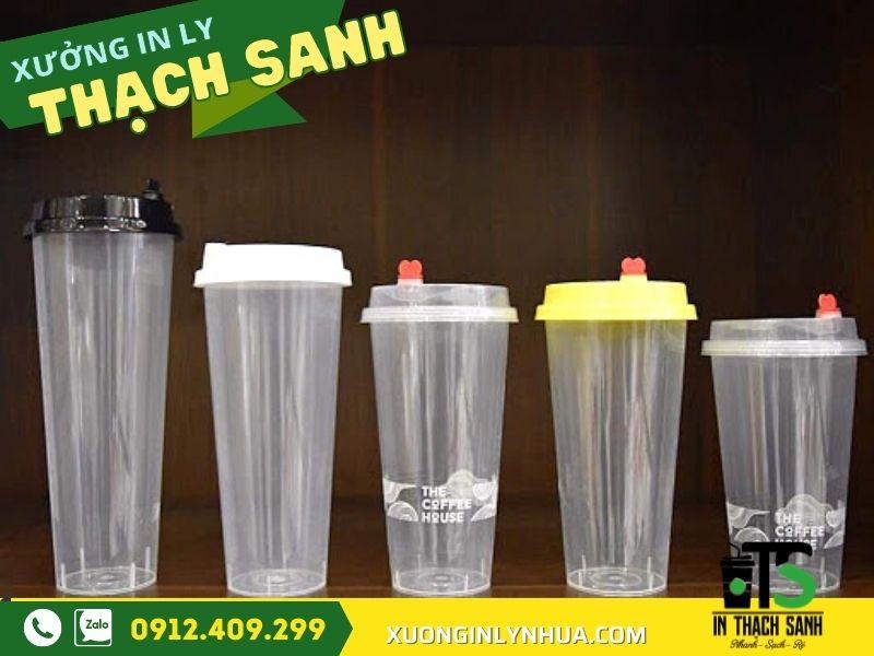 in logo lên ly nhựa, Địa chỉ cung cấp ly nhựa cứng - in logo ly nhựa uy tín, giá tốt