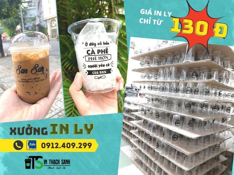 Tùy theo chất lượng, xuất xứ của nhựa mà mức giá ly nhựa in trà sữa / cafe cũng có sự chênh lệch nhất định.