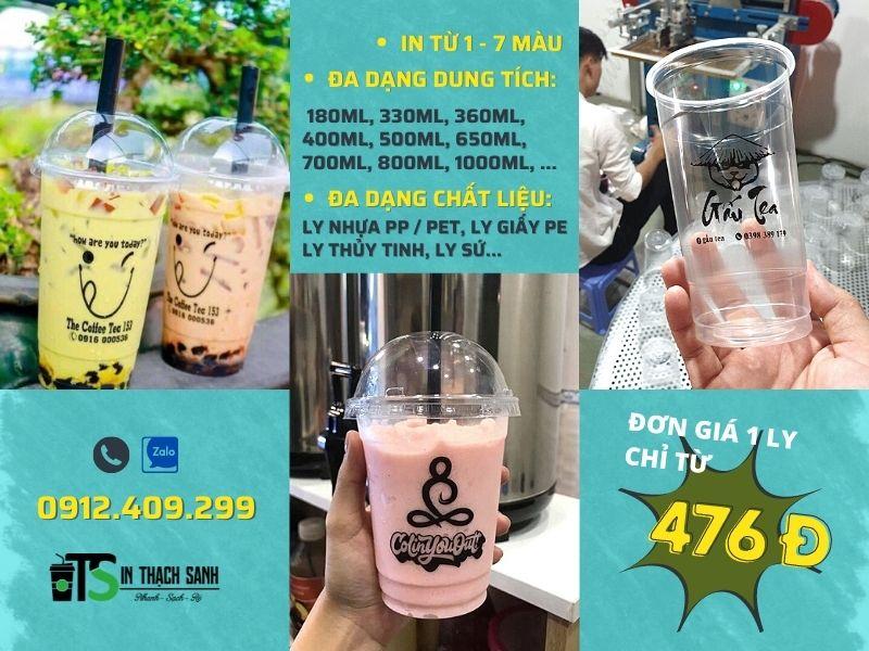 ly nhựa trà sữa / ly cafe đa dạng, cập nhật xu hướng thị trường liên tục