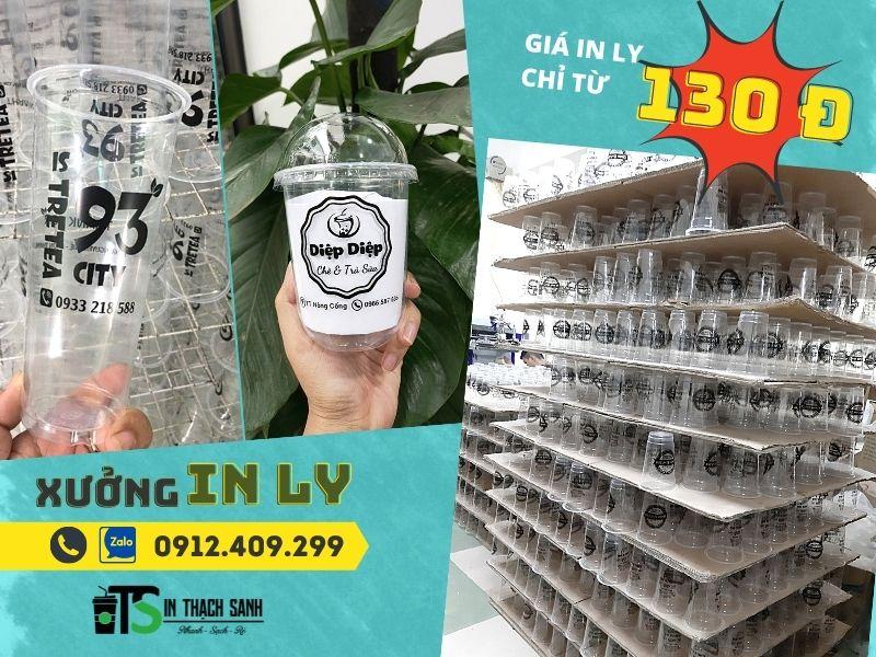 Xưởng in ly chúng tôi cung cấp dịch vụ in ly nhựa giá rẻ HCM