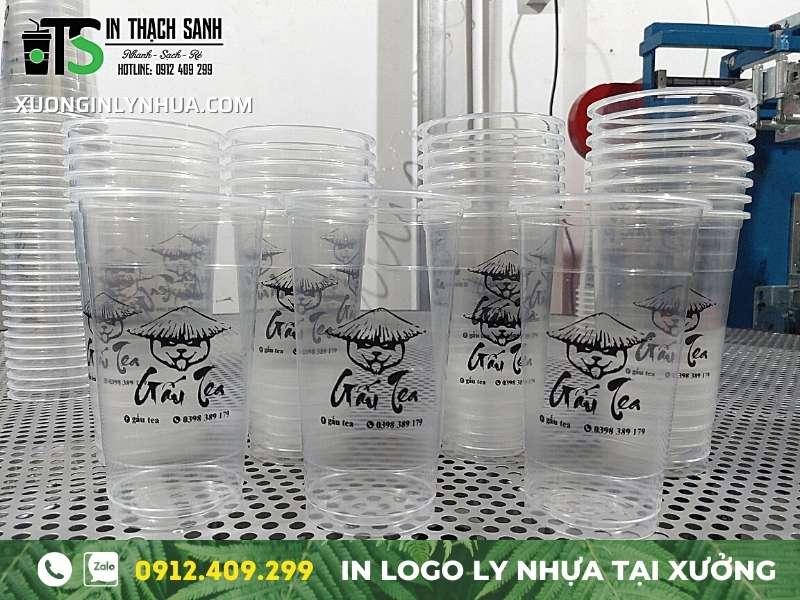 Ly nhựa 700ml, ly 500ml - Xưởng in ly nhựa Pet, ly PP giá chỉ từ 130đ
