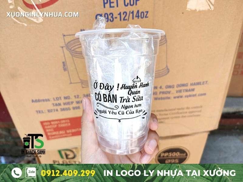 Địa chỉ cung cấp ly nhựa 700ml – nhận in logo theo yêu cầu giá tốt
