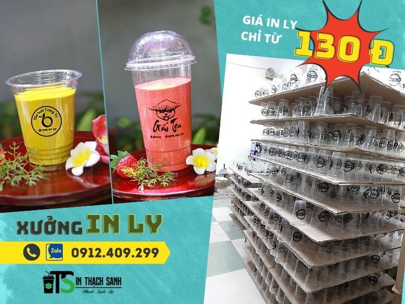 lựa chọn đơn vị in ly nhựa giá rẻ TPHCM