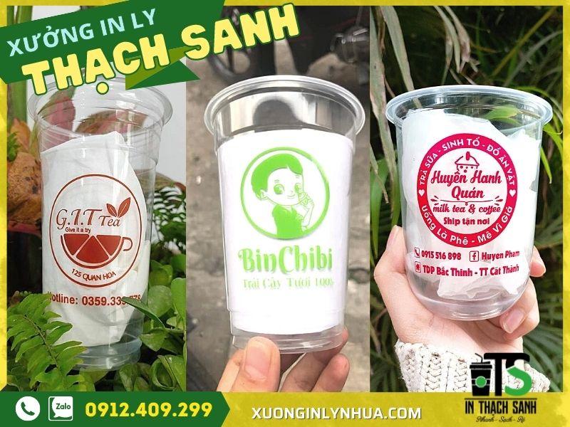 In logo lên ly nhựa trà sữa - phương pháp được khuyên lựa chọn