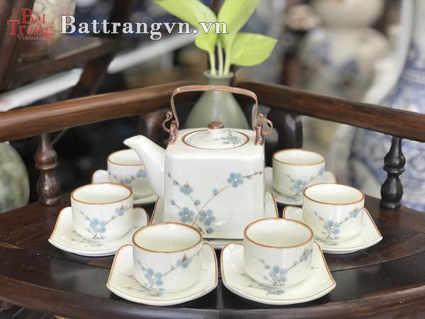 Bộ ấm chén gốm sứ giá rẻ quận Tân Bình - Làm sao để mua được bộ ấm đẹp